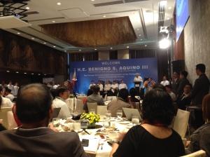 Forum présidentiel FOCAP Benigno Aquino